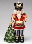 Nutcracker Three Tier Tea Light Candle Holder