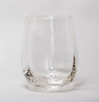 NuVin Romanian Crystal White Wine Glasses, Set of 4