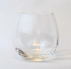 NuVin Romanian Crystal Wine Goblet Glasses, Set of 4