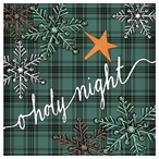 O Holy Night Absorbent Beverage Coasters, Set of 12
