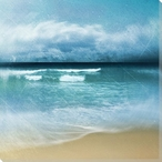 Ocean Movement I Wrapped Canvas Giclee Print Wall Art