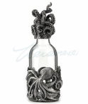 Octopus Base Perfume Bottle with Tentacle Cap