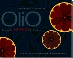 Olio Blood Orange Infused Oil Wrapped Canvas Giclee Print Wall Art