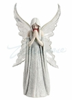 Only Love Remains Angel Sculpture by Anne Stokes
