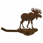 Original Moose Metal Toilet Paper Holder