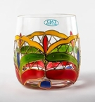 Orleans Romanian Crystal Double Old Fashion Whiskey Glasses, Set of 4