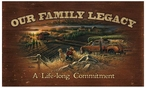 Our Family Legacy Wood Sign