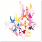 Outburst 1 Wrapped Canvas Giclee Art Print Wall Art