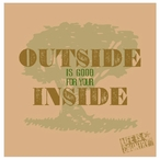 Outside is Good For Your Inside Coasters by Life Is Country, Set of 12