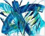 Pampas II Wrapped Canvas Giclee Print Wall Art