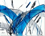 Pampas VII Wrapped Canvas Giclee Print Wall Art