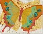 Paper Butterfly Four Wrapped Canvas Giclee Print Wall Art