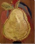 Pear I Wrapped Canvas Giclee Print Wall Art