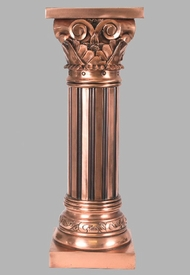 Pedestal - Copper Finish