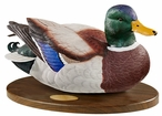 Personalized Swan Lake Mallard Duck Life-Size Hand Painted Sculpture