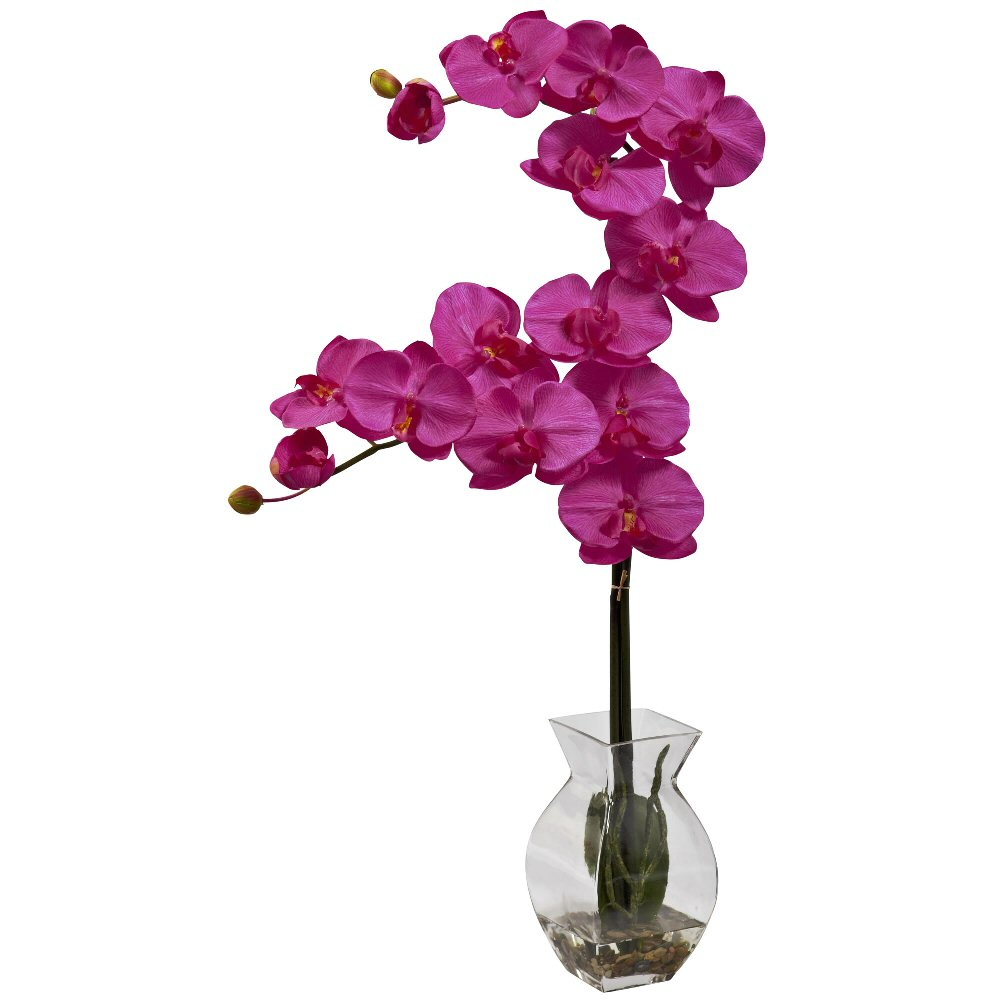 Phalaenopsis Beauty Orchid Silk Flower Arrangement with