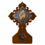Picture Jasper Stone Metal Robe Hook