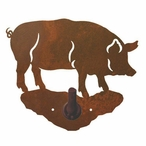 Pig Metal Robe Hook