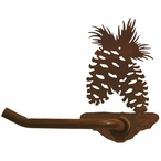 Pine Cone Metal Toilet Paper Holder