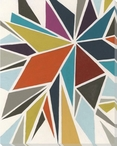 Pinwheel I Wrapped Canvas Giclee Print Wall Art