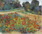 Poppy Hill Wrapped Canvas Giclee Print Wall Art