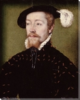 Portrait of King James V of Scotland Wrapped Canvas Giclee Print
