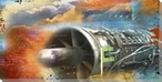 Propulsion Wrapped Canvas Giclee Print Wall Art