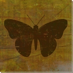 Qwerties Butterfly Wrapped Canvas Giclee Print Wall Art
