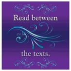 Read Between the Texts Absorbent Beverage Coasters, Set of 12