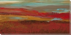 Red Landscapes Wrapped Canvas Giclee Print Wall Art