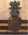 Regal Pineapple I Wrapped Canvas Giclee Print Wall Art
