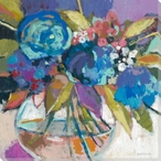 Remember Flowers II Wrapped Canvas Giclee Print Wall Art