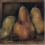 Renaissance Pears Wrapped Canvas Giclee Print Wall Art