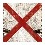 Require Assistance Nautical Signal Flag Vintage Style Metal Sign