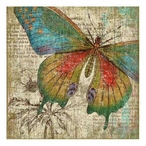 Right Butterfly Vintage Style Metal Sign