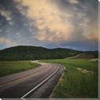 Road to Marthasville Wrapped Canvas Giclee Print Wall Art