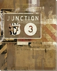 Road Trip Junction Sign Wrapped Canvas Giclee Print Wall Art