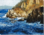 Rocky Shores I Wrapped Canvas Giclee Print Wall Art