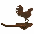 Rooster Metal Toilet Paper Holder