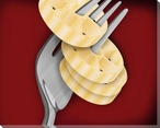Rotelline al Dente Wrapped Canvas Giclee Print Wall Art