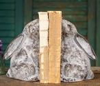Rustic Bunny Cast Iron Bookends