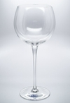 Sade Romanian Crystal Balloon Wine Goblet Glasses, Set of 4