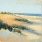 Sand Dunes Wrapped Canvas Giclee Print Wall Art