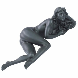 Sculpted Nude Female Laying Down Sculpture - 253