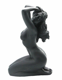 Sculpted Nude Female Touching Her Head Sculpture - 237