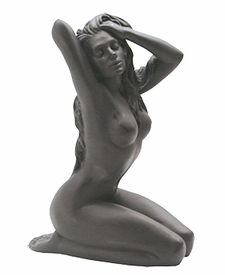 Sculpted Nude Female With Her Hand in Her Hair Sculpture - 236