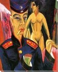 Self Portrait as a Soldier Wrapped Canvas Giclee Print Wall Art