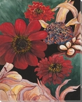 Serendipity Assorted Flowers I Wrapped Canvas Giclee Print