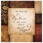 Serve the Lord Absorbent Beverage Coasters, Set of 8
