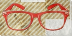 Single Vision Glasses Wrapped Canvas Giclee Print Wall Art